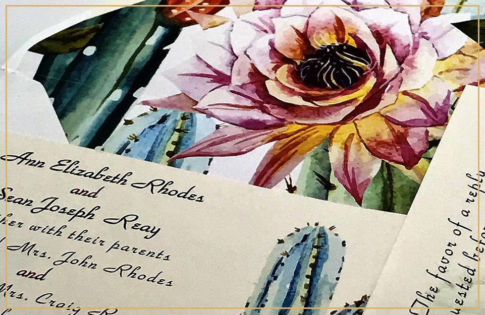 Custom Wedding Invitations, Announcements, Wedding Stationary