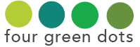 Four Green Dots